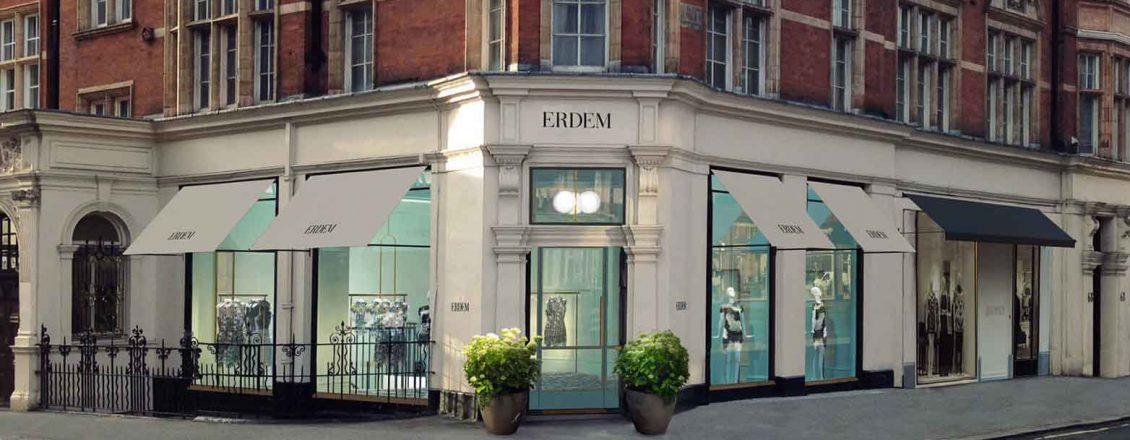 Mayfair, London Erdem Fashion Boutique