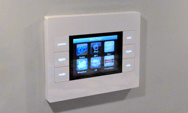 URC In-wall Control Panel