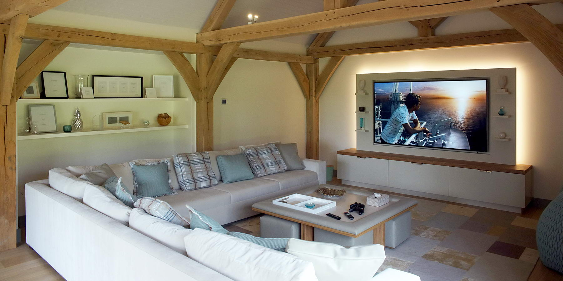 Buckinghamshire Country Retreat Media Room