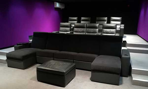 Bespoke Home Cinema Seating