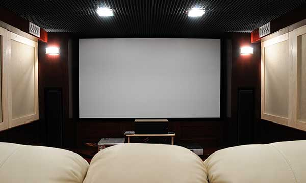 Tensioned Cinema Screen
